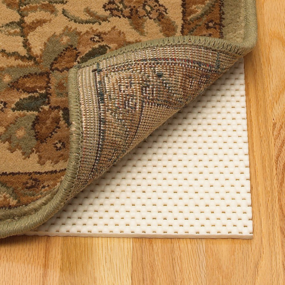 "Image of ""Mohawk Home Cushion Plus NonSlip Rug Pad - Ivory (1'2""""x6'8""""), White"""