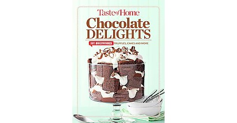 Taste of Home Chocolate Delights : 201 Brownies, Truffles, Cakes & More (Hardcover) - image 1 of 1