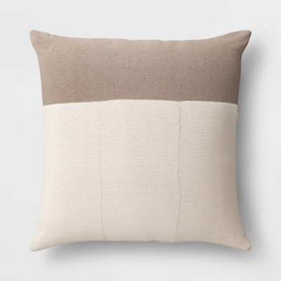 24 Outdoor Throw Pillow Vintage Gray Threshold Designed With Studio Mcgee Target