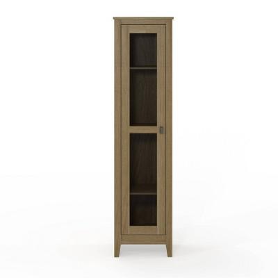 """18"""" Coulwood Wide Storage Cabinet With Mesh Door - Room & Joy"""