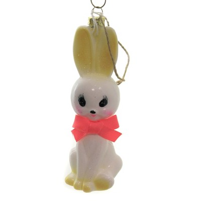 "Holiday Ornament 5.25"" Retro Rabbit Bunny Easter Christmas  -  Tree Ornaments"