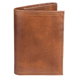 Men's Thin Trifold Wallet - Goodfellow & Co™ Brown One Size