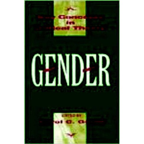 Gender - (Key Concepts in Critical Theory) (Paperback) - image 1 of 1