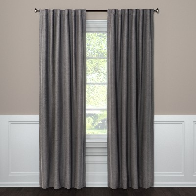 Blackout Curtain Panel Aruba Gray 63  - Threshold™
