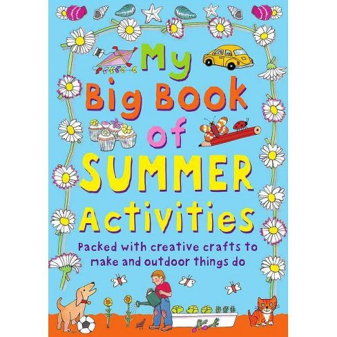 My Big Book of Summer Activities - by  Clare Beaton (Hardcover) - image 1 of 1