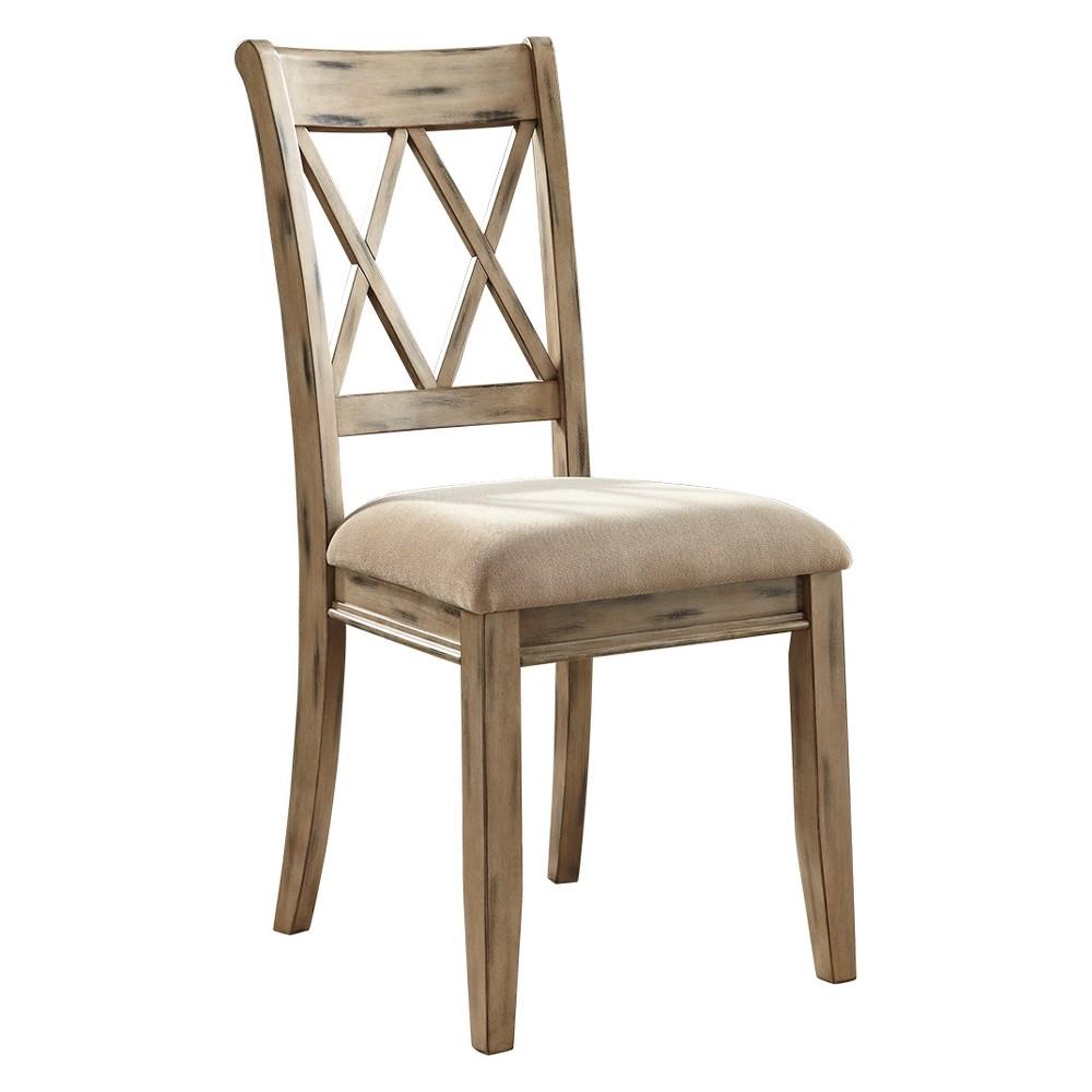 Mestler Dining Upholstered Side Chair (Set of 2) Beige Mist - Signature Design by Ashley