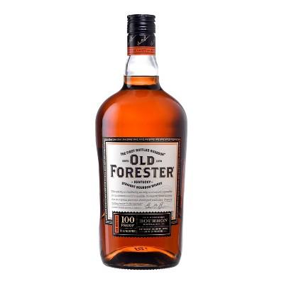 Old Forester 100P Straight Bourbon Whiskey - 1.75L Bottle