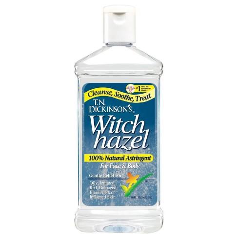 T N Dickinson S Witch Hazel Liquid 16 Oz Target