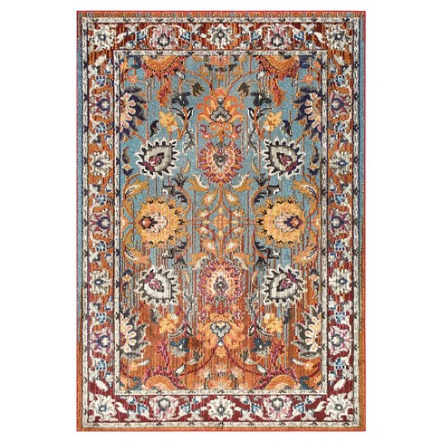 Floral Mallory Rug - nuLOOM - image 1 of 3
