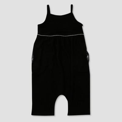 Toddler Girls' Afton Street Sleeveless Bodysuit - Black 12 M
