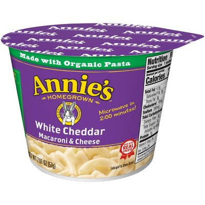Annie's White Cheddar Macaroni & Cheese 2oz