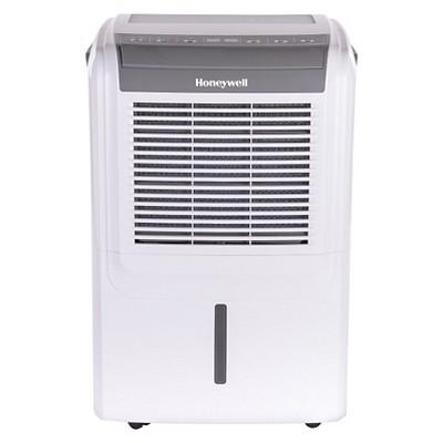 Honeywell - 70 Pint Dehumidifier - White/Gray