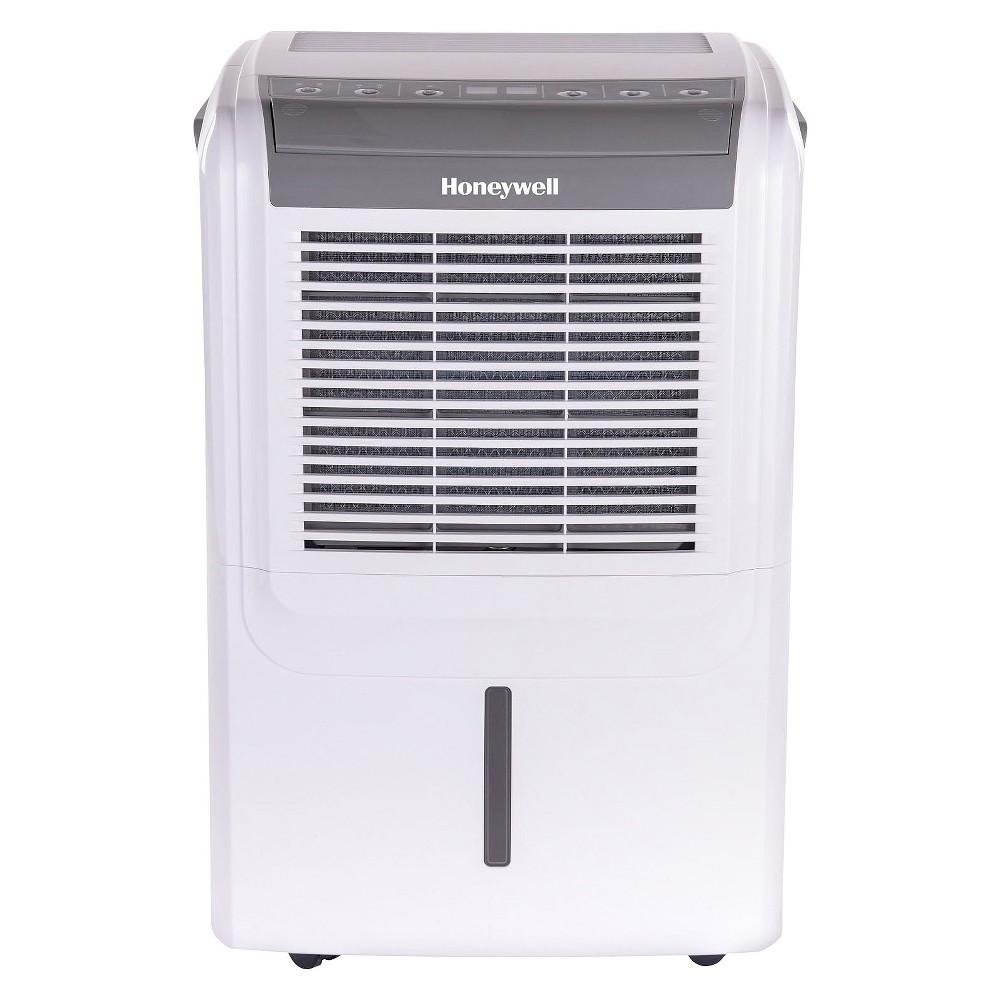 Honeywell - 70 Pint Dehumidifier - White/Gray