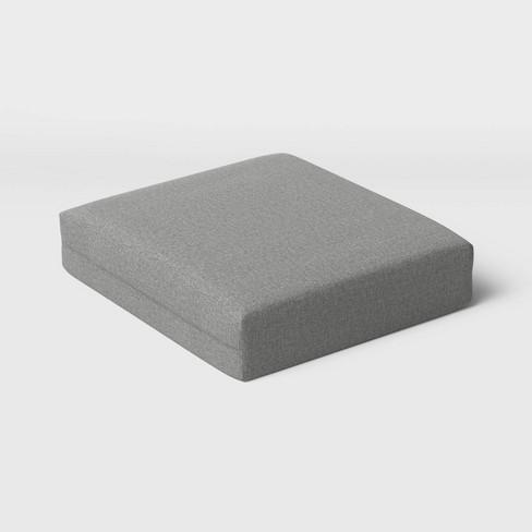 Woven Outdoor Deep Seat Cushion DuraSeason Fabric™ - Threshold™ - image 1 of 3