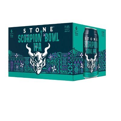 Stone Scorpion Bowl IPA Beer - 6pk/12 fl oz Cans