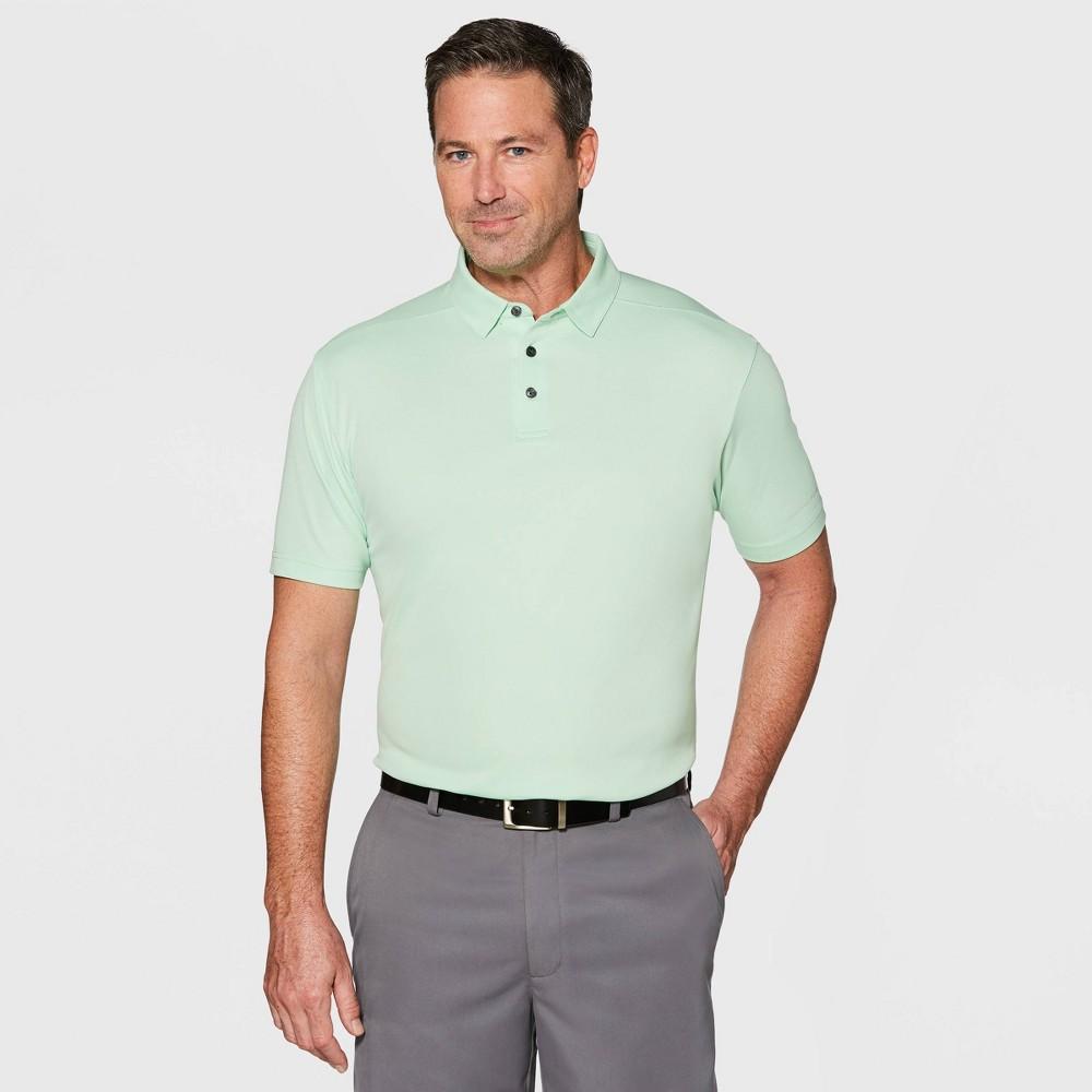Jack Nicklaus Men's Oxford Polo Shirt - Green Ash L