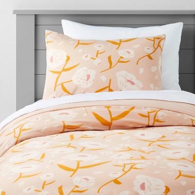 Floral Boho Rose Duvet Cover - Pillowfort™