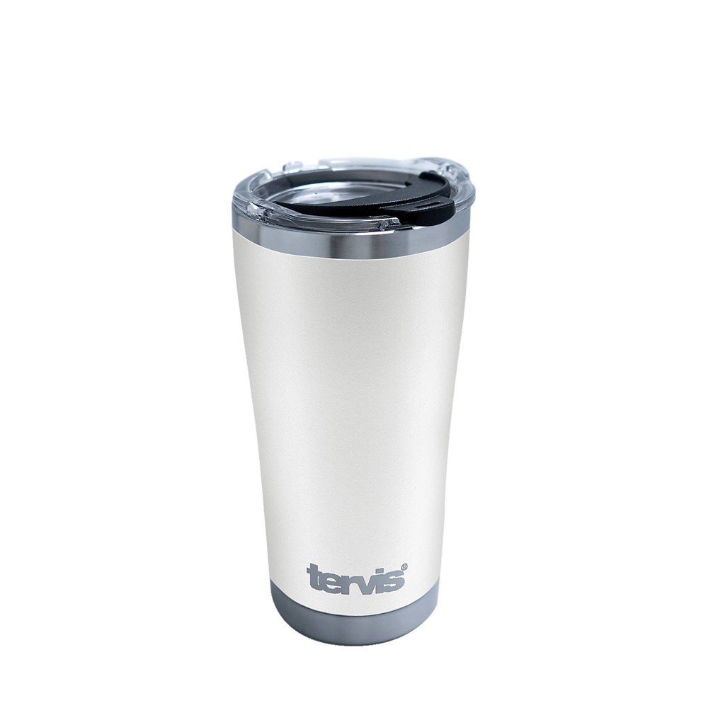 Top Tervis 20oz Powder Coated Stainless Steel Tumbler - Optic White
