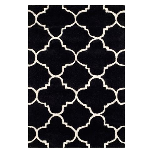 Lena Quatrefoil Design Tufted Accent Rug - Safavieh - image 1 of 1