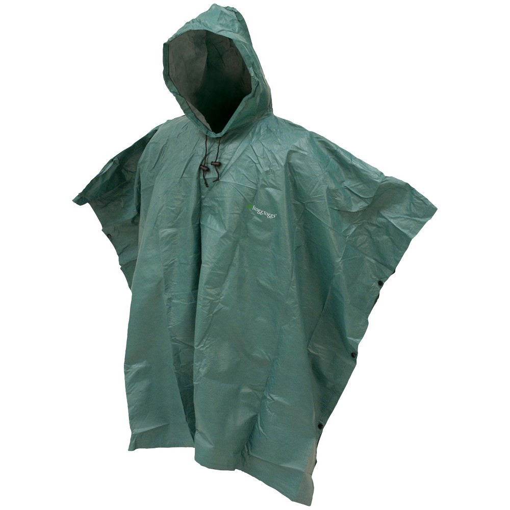 Image of Frogg Toggs Poncho - Green