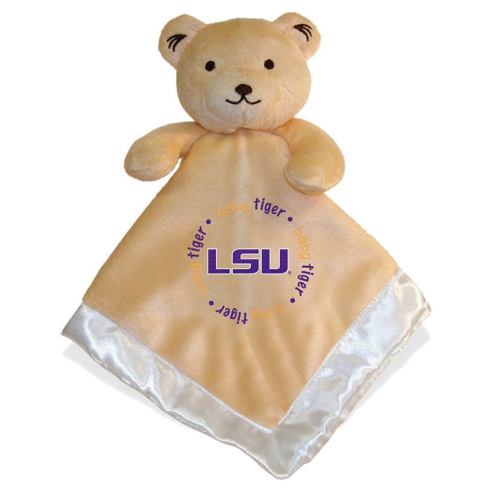 Lsu Tigers Baby Fanatic Security Bear - White, Purple/Gold