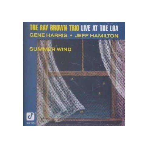 Ray (Bass) Brown - Summer Wind: Live at the Loa (CD) - image 1 of 1