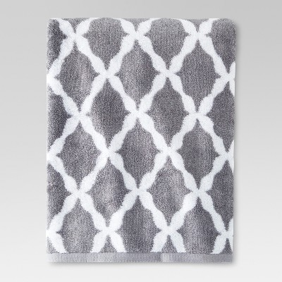 Botanic Fiber Bath Sheet Cloak Gray- Threshold™