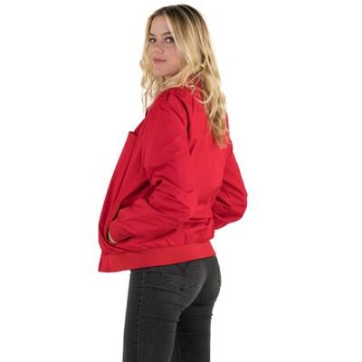 Members Only Women's Classic Iconic Racer Jacket (Men's Cut)