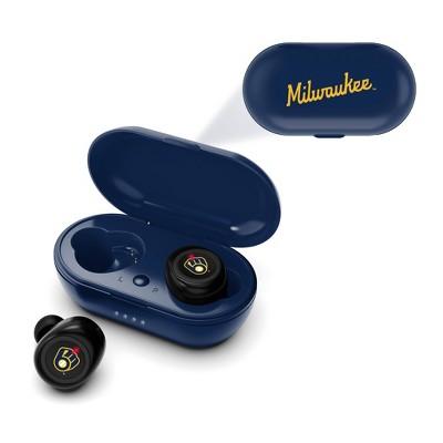 MLB Milwaukee Brewers True Wireless Earbuds