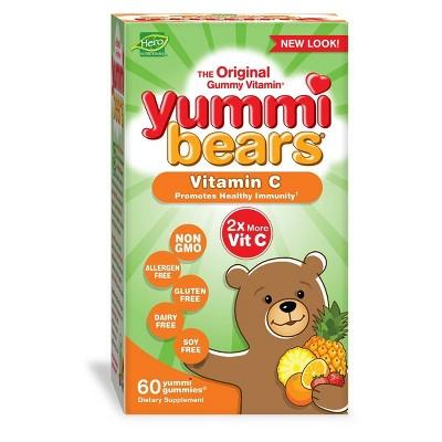 Yummi Bears Kids Vitamin C Gummies - 60ct