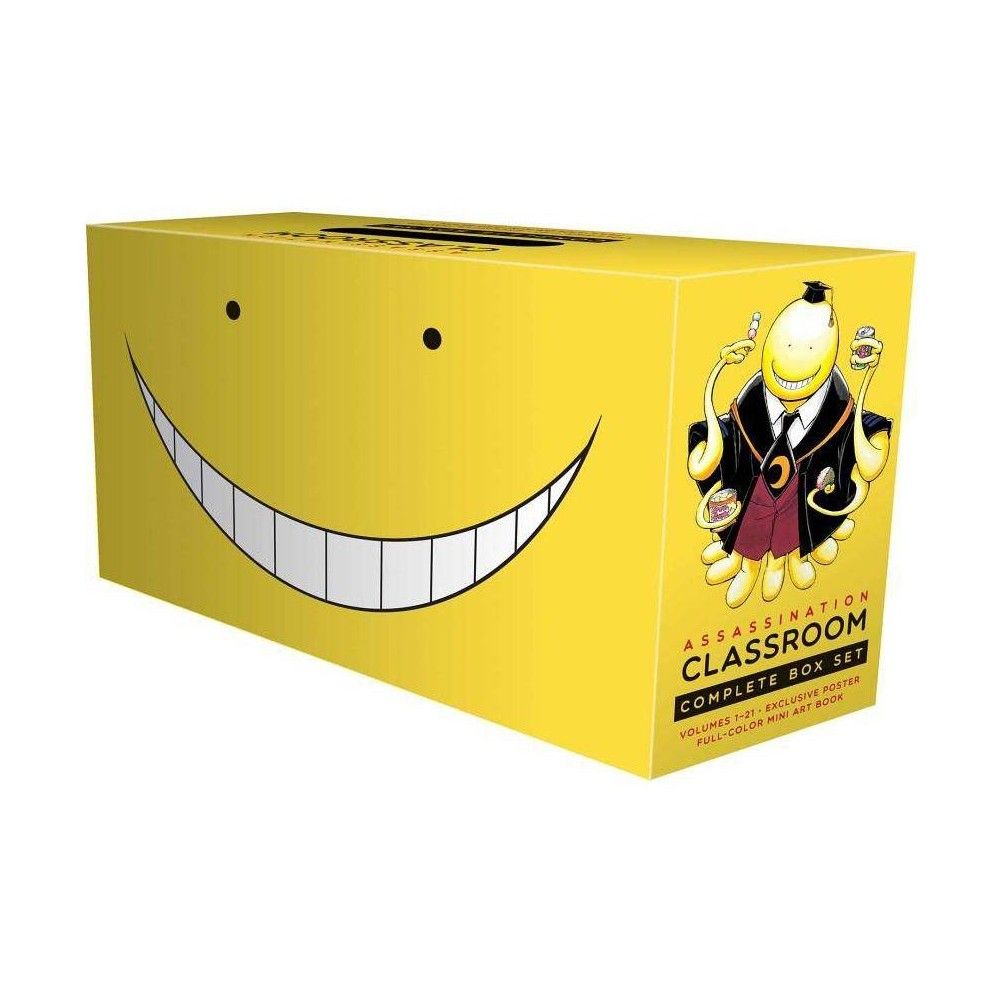 Assassination Classroom Complete Box Set - by Yusei Matsui (Paperback)