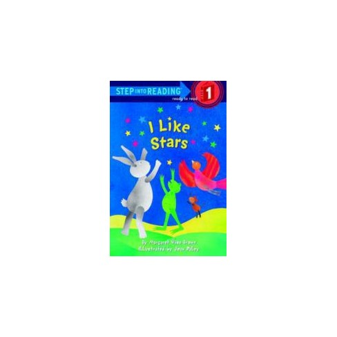 I Like Stars - (Step Into Reading - Level 1 - Quality) by  Margaret Wise Brown (Paperback) - image 1 of 1