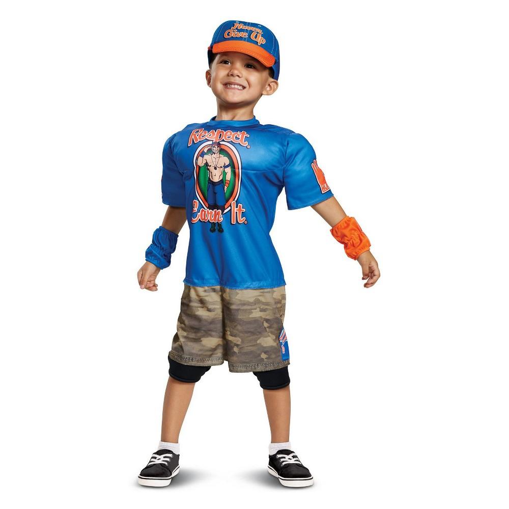 Toddler Kids' Wwe John Cena Muscle Halloween Costume 2T-4T, Toddler Boy's, Multi-Colored