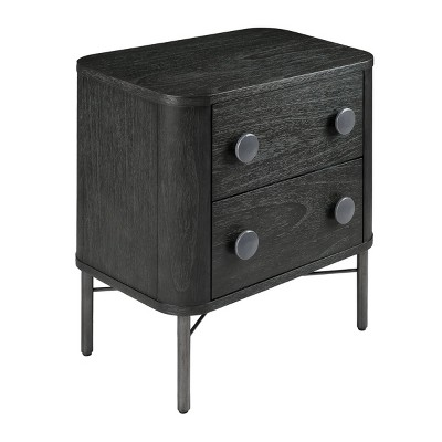 Milan 2 Drawer Nightstand - Hopper Studio
