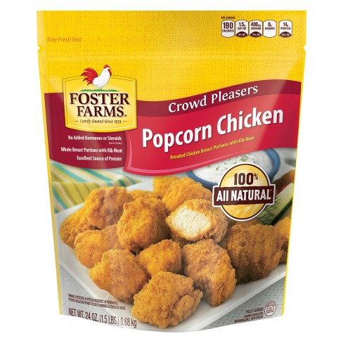 Foster Farms Popcorn Chicken - 24oz - image 1 of 1