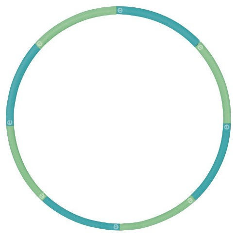 Empower™ Cardio Core & More 3Lb Weighted Hoop - Blue/Green - image 1 of 3