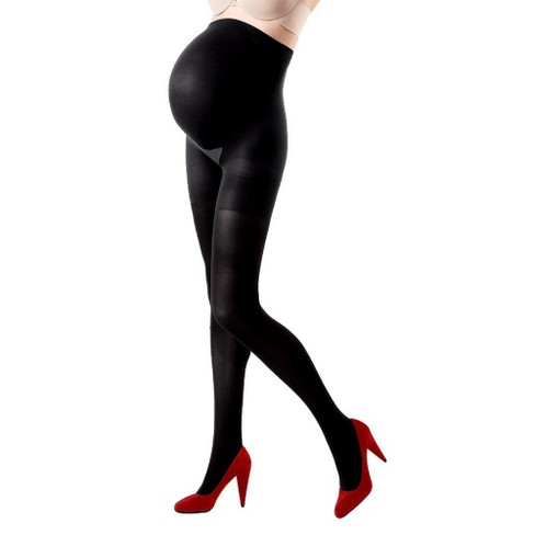 f45595abfc Assets By Spanx Maternity Terrific Tights - Black   Target