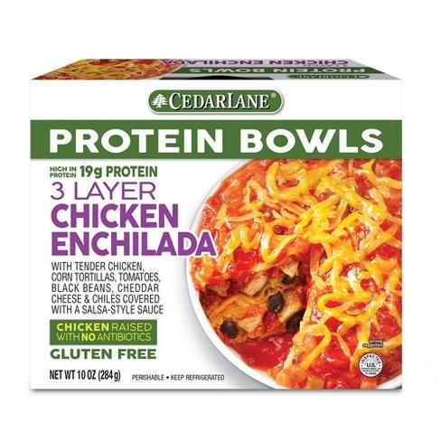 Cedarlane Protein Bowls Three Layer Chicken Enchilada - 10oz - image 1 of 1