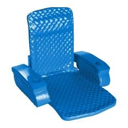 TRC Recreation Super Soft Baja Durable Adult Chair Pool Swimming Float, Blue
