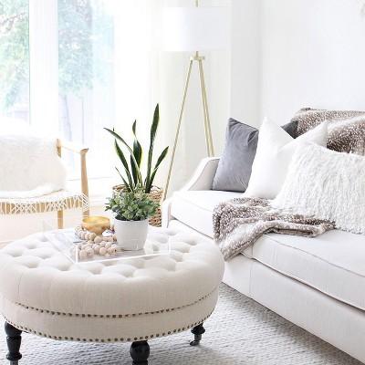 Elegant Neutral Living Room Furniture, Target Living Room Furniture