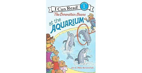 The Berenstain Bears at the Aquarium ( I Can Read!, Level 1: The Berenstain Bears) (Paperback) by Jan Berenstain - image 1 of 1