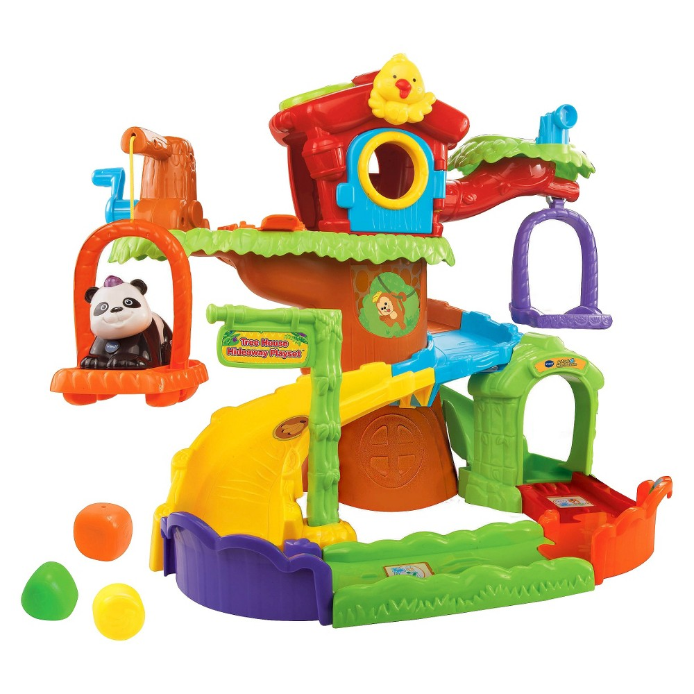 VTech Go! Go! Smart Animals - Tree House Hideaway Playset