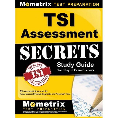 Tsi Assessment Secrets Study Guide - by  Mometrix College Placement Test Team (Hardcover) - image 1 of 1