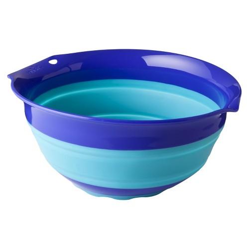 Squish 3 Quart Collapsible Bowl, Blue