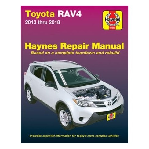 2018 rav4 repair manual