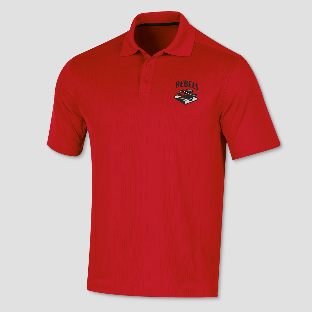 Unlv Rebels Men's Short Sleeve Game Day Polo Shirt L, Multicolored