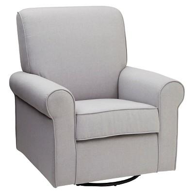 Gentil Delta Children Avery Nursery Glider Swivel Rocker Chair : Target