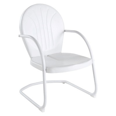 Griffith Metal Chair in White Finish
