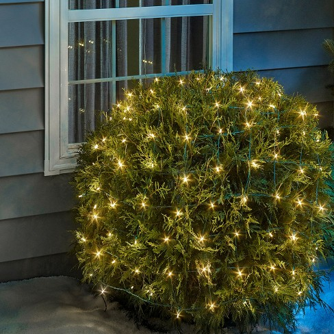 - Philips 50ct Christmas Solar Net Lights Warm White... : Target