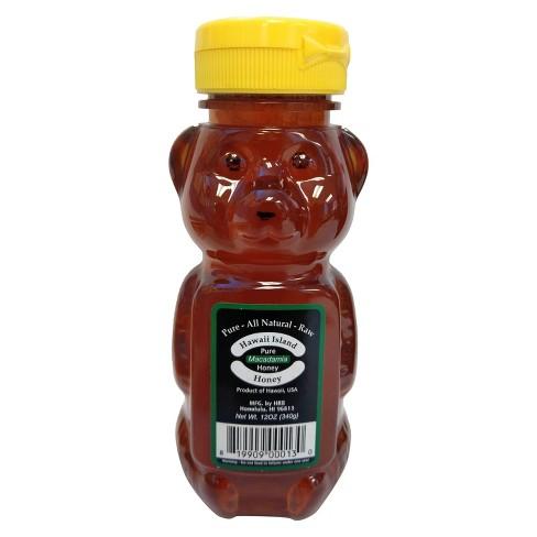 Hawaii Island Pure Macadamia Honey - 12oz - image 1 of 1